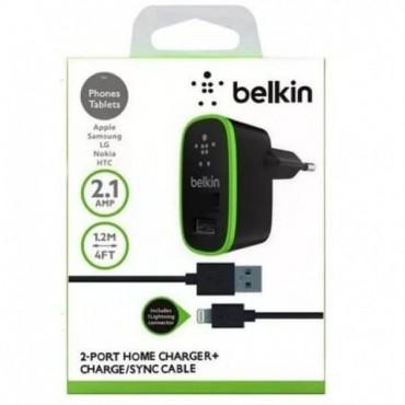 Belkin 2 in 1 (1 USB / 2.1А ) iPhone 4G