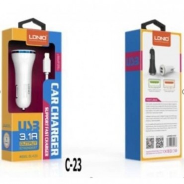 LDNIO DL-C23 (2USB/3.1A) Lighting