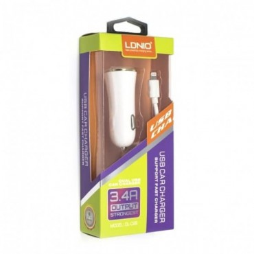 LDNIO DL-C28 (2USB/3.4A) Lighting CLASS A