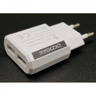 USB DOOGEE (2 USB/2.5A) без упаковки
