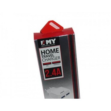EMY 5V 2.4mAh 2 USB