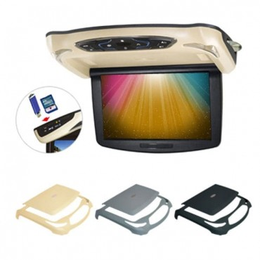Car Roof-mount Monitor HD LED 10.2-Inch with USB