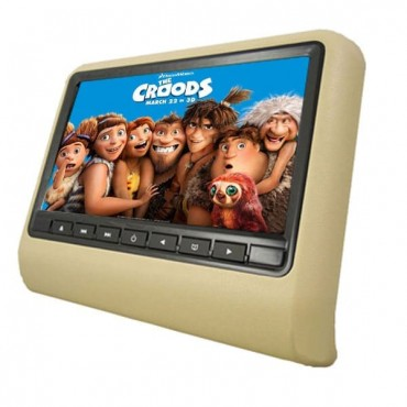 HD LED Active Headrest DVD Player 9-Inch
