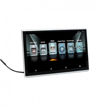 Seat Back Android Headrest Monitor 11.6 Inch Touch Screen