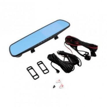 """Зеркало видеорегистратор 1433 (камера - FHD, монитор - 4,3"""") - 2 камеры"""