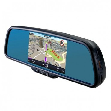 Car Rearview Smart with GPS Navigation 5-Inch