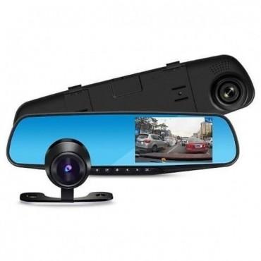 "Зеркала с видеорегистратор L9000 (4.3"") / 2 кам. FULL HD"