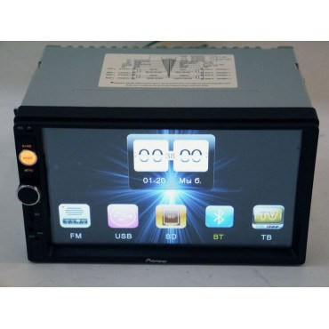 2Din Pioneer 8702 7' Экран Магнитола USB