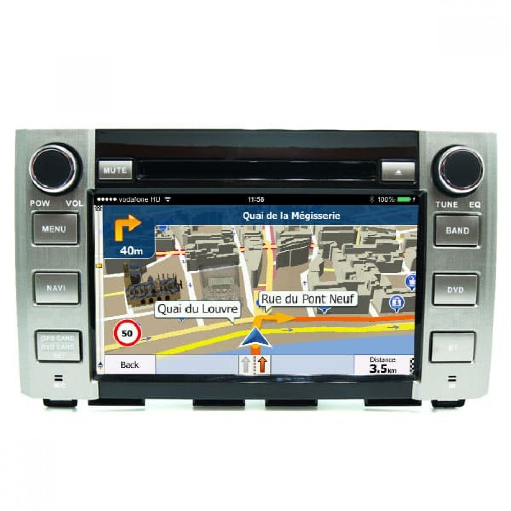 Toyota Tundra Bluetooth In Car Dvd CD Player Android